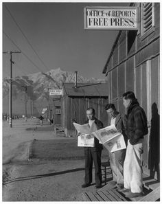 Ansel Adams photographs of Japanese internment camps, 1943 They lost everything, homes, jobs property. Had to start all over