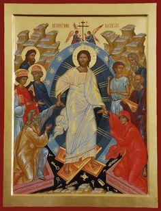 La Resurrezione - E. Venuti Christ is risen! Jesus Christ Lds, Christ Is Risen, Jesus Art, Religious Icons, Religious Art, Biblical Verses, Art Icon, Orthodox Icons, Christian Art