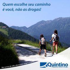 Nas curvas da vida, oferecemos sempre o melhor caminho! www.clinicaquintino.com.br - 0800 942 0101 (Plantão 24 horas)