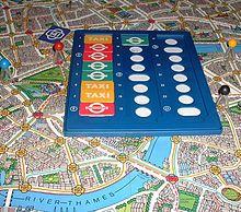 Scotland Yard board game...a family favorite