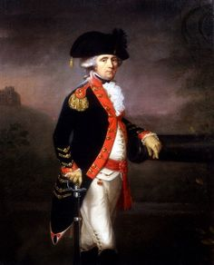 Portrait of an Officer of the Bengal Artillery 1780s  Thomas Hickey (1741-1824)