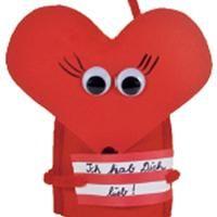 Basteln Valentinstag Fuer Kinder | Filz Eierwärmer , Basteln Mit Kindern
