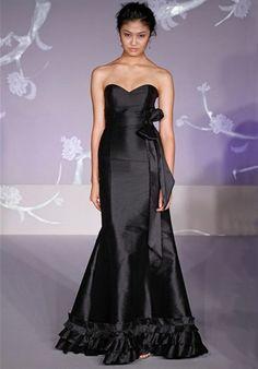 Alvina Valenta Bridesmaids  #9128  Love the Ruffle!