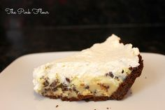 The Pink Flour: Cookie Dough Cheesecake Pie