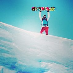 Snowboarding is all about daring. Dare to go on that run. Dare to take that turn, that jump. You have to keep daring yourself. And i love it.