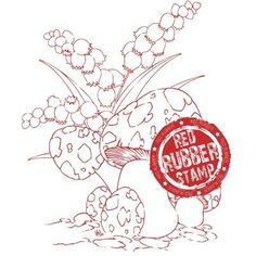 Toadstool Belle from Make it Crafty rubber stamp available at Little Miss Muffet Stamps