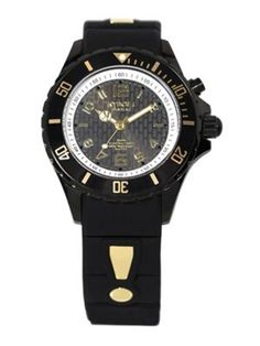 Power Black Silicone   Blackened Stainless Steel Strap Watch 40MM.  kyboe!   watch 40mm e07e382cc8