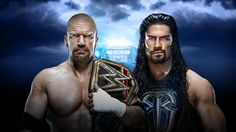 Roman Reigns challenges Triple H this Sunday