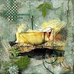 Laatste toevoegingen - Happy Gardener - Scrap Art Studio Gallery