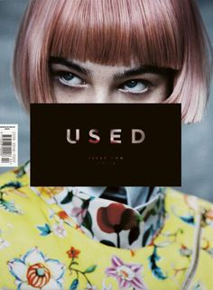 USED magazine. Brainchild of the London based creative agency Useful , (known for their art direction and editorial design of the Topshop 214 Magazine), USED is a new bi-annual publication focusing on the interaction between fashion and art. The first iss Web Design, Layout Design, Website Design, Print Design, Logo Design, Editorial Design, Editorial Layout, Book Design Graphique, Barbara Kruger