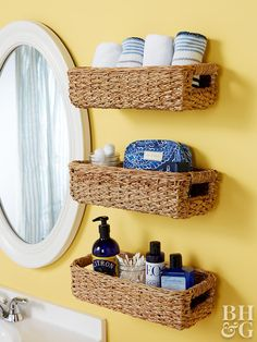 13 best basket shelves images organizers diy ideas for home good rh pinterest com