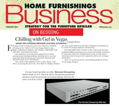 Octaspring technology featured in Home Furnishings Business magazine, Feb 2013…