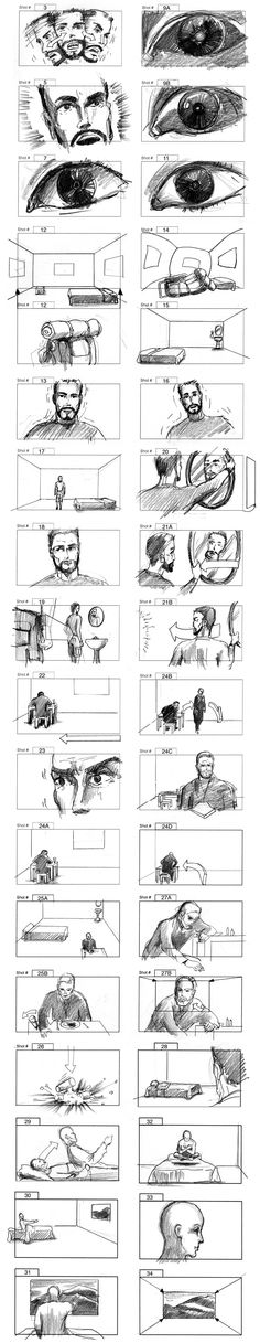 Storyboards For Films Commercials And Music Videos By Cuong Huynh