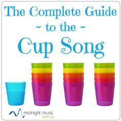 How to do the cup song with music history info
