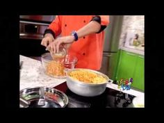 ▶ Chef Edgardo Noel: Pastelón de arroz - YouTube