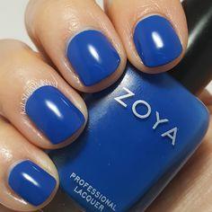 Zoya Urban Grunge Once Coat Creams - Mallory | Kat Stays Polished @zoyanailpolish #urbangrunge