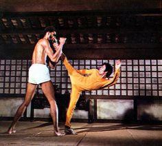 Bruce and Kareem Abdul Jabbar, Game of Death