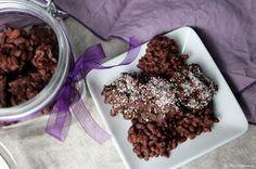 La Fée Stéphanie: Rochers au chocolat