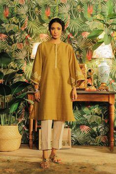 Rozana | ETHNIC Top Sales, Winter Collection, 1 Piece, Beautiful Dresses, Fitness Models, Classy, Shirt Dress, Elegant, Ethnic