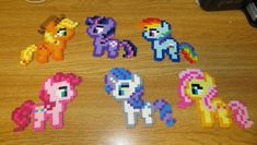 Whos your favorite pony? Ever wanted them as a magnet? Well now heres your chance!    Heres a collection of My Little Pony: Friendship is Magic