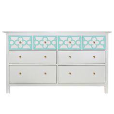 O'verlays Quatrefoil Single Kit Ikea Hemnes 8 drawer dresser top drawers. Classic home decor that works any style decorating. Easy diy furniture makeover.