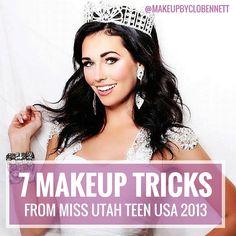 7 makeup tricks miss utah teen usa
