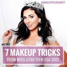 7 makeup tricks miss utah teen usa