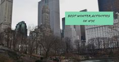 Fun things to see and do during the cold New York winter months. New York Winter, Winter Destinations, New York Travel, Winter Months, Travel List, Plan Your Trip, Winter Season, Winter Wonderland, New York City