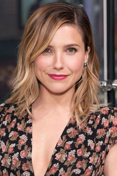 The 15 hottest haircuts for Summer 2015: Sophia Bush's layered lob.