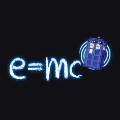 """Relativity of Time And Space"" Geek Doctor Who Tardis T-Shirt 