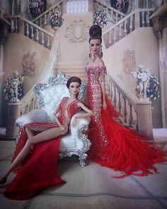Barbie Model, Barbie And Ken, Diva Dolls, Barbie Dolls, Fashion Royalty Dolls, Fashion Dolls, Barbie Miniatures, Barbie Collection, Little Girl Fashion