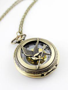 Gold Chain Bird Watch
