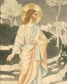 "Catholic Artwork (@catholicartwork) på Instagram: ""The Mount of Olives by Joseph Edward Southall, 1922"""