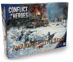 Conflict of Heroes: Awakening The Bear! Board Game 2nd Edition