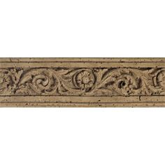 "Found it at Wayfair - Fashion Accents 13"" x 4"" Romanesque Decorative Listello in Flora Noce"