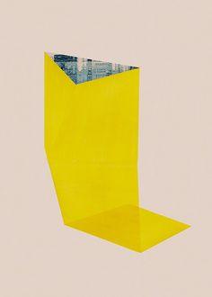 jesús perea — Abstract composition 653 - 60 x 84 cm
