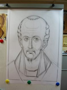 Frescele lui Alexandru Soldatov (Partea a Byzantine Art, Byzantine Icons, Writing Icon, Orthodox Icons, Fresco, Icon Design, Christianity, Origami, Creations