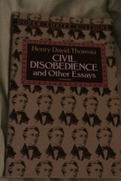 Civil disobedience essays