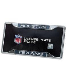Stockdale Houston Texans Carbon License Plate Frame - Gray