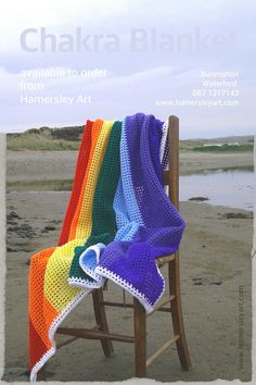 Chakra blankets now available to order from Hamersley Art.  Luxurious swash of rainbow colours made to your specifications in the The Diese County.  For orders and commissions please e-mailhamersleyart@gmail.com   Available to order from www.hamersleyart.com