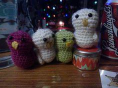 crochet birds   #crochet  #amigurumi