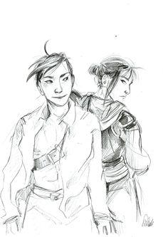 Ling and Lan Fan by sharadaprincess