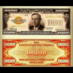 100,000 dollar note http://30daysfinancialfreedom.com