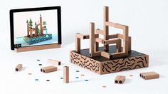 These Smart Building Blocks Let Kids Build Worlds—Then Explore Them >>   Want to build a labyrinth of pylons that grow trees and spout waterfalls? In the mixed-reality game Koski, it's simple.