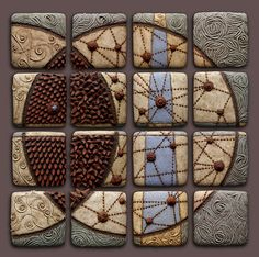 Chris Gryder's wall tiles