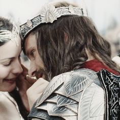 I loved that they weren't just kissing. I loved that they looked genuinely happy to see each other, they embraced, and the look on their faces clearly showed relief and joy at being reunited.