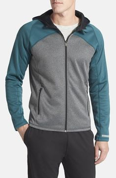 BPM Fueled by Zella Colorblock Full Zip Hoodie available at Source by akethan Sports Tracksuits, Moda Men, Trendy Hoodies, Running Wear, Loungewear Set, Full Zip Hoodie, Mens Sweatshirts, My Outfit, Lounge Wear