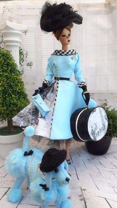 OOAK Silkstone Vintage Barbie Handmade 12\