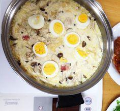 おからのゆで卵グラタン