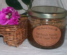 I can't say enough good things about Om Shanti Naturals. Kate is a total sweetheart and hand-makes all of her stuff, as the site says,  Crap Free. Guaranteed. I used the Patchouli Vanilla Salt and Sugar Scrub as my weekend treat, and it smells like a faerie-tale forest, like trees and earth covered in vanilla orchids. The salt and sugar exfoliates your skin, and the oils nourish you so when you step outta the shower to dry off, you'll be soft and scented and amazing. (Use a separate towel from your normal one, cause you'll probably get some oils on it, but they're basically like massage oils, not gonna hurt it. Also, after toweling off, let your skin sit to soak some of the oils into your skin, or even rub them in a bit, and you'll be soft and silky and smell amazing all day!!!)